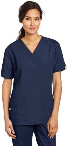 WonderWink Women's Scrubs Bravo 5-Pocket V-Neck Top
