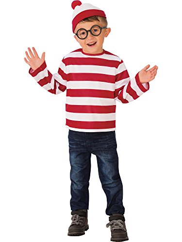 Rubie's Child's Where's Waldo Costume, Small