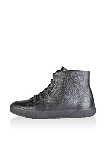 Superga Zapatillas abotinadas Negro