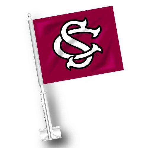 NCAA South Carolina Gamecocks Car Flag Set of 2 ()