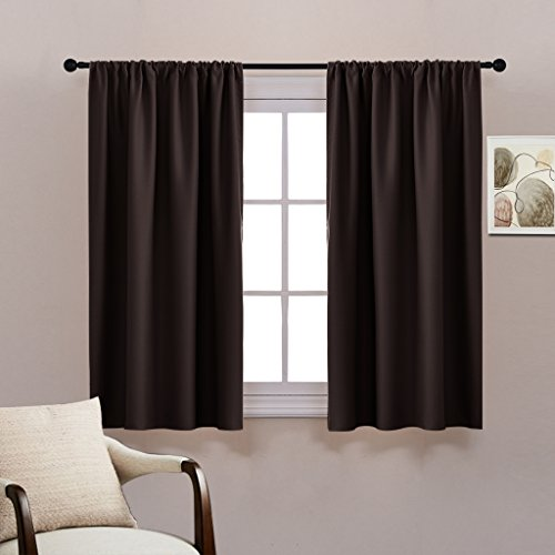 PONY DANCE Bedroom Blackout Curtains Draperies Panels - Home
