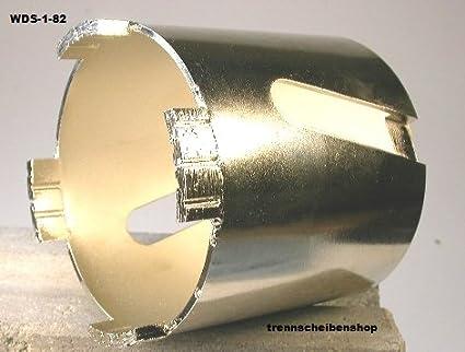 Diamond - dosis senker, WDS-1_ diámetro de 82 mm, Turbo de segmentos