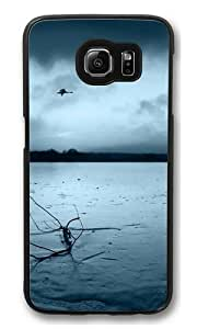 Geese Flying Polycarbonate Hard Case Cover for Samsung S6/Samsung Galaxy S6 Black