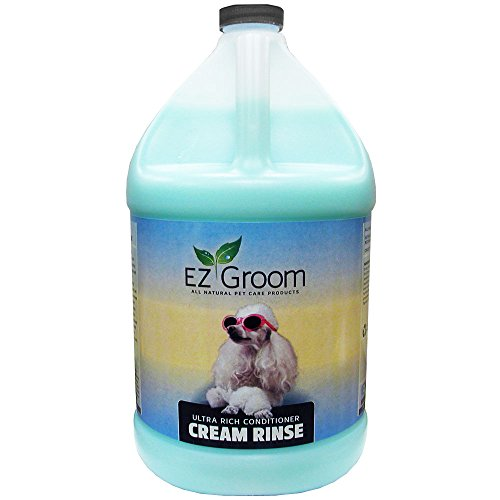 EZ Groom Ultra Rich Conditioner Cream Rinse Gallon - Concentrated