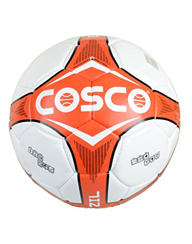 Cosco 14020 Brazil Foot Ball, Size 5  Red