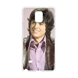 Donny Osmond Samsung Galaxy Note 4 Cell Phone Case White y2e18-396981