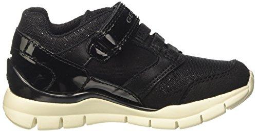 Geox A J Niñas Zapatillas black Negro Sukie Para 77wfz8Uq
