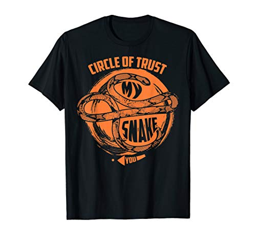 Circle Of Trust My Snake   Cute Trust Snake Gift T-Shirt