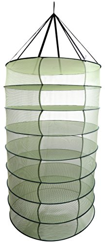 41nHJo5IAZL Apollo Horticulture 3ft 8 Layer Collapsible Mesh Hydroponic Drying Dry Rack Net