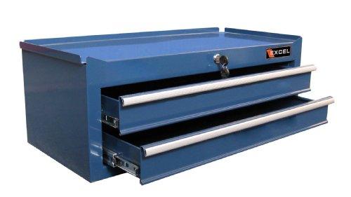 Excel TB2502X-Blue 26-Inch Steel Intermediate Chest, Blue ()