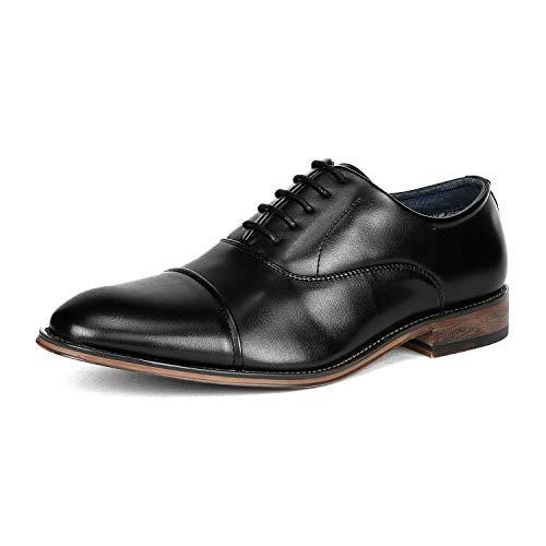 Bruno Marc Men's Louis_2 Black Formal Dress Oxfords Formal Dress Shoes Size 10.5 M ()