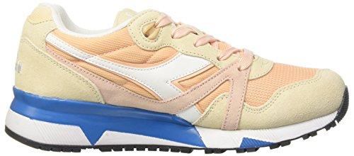 Sneaker C7376 Bisque Collo Uomo A Basso Candeggiato Diadora Vivido Iii beige azzurro Rosa N9000 z0g0xp