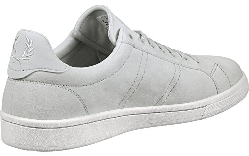Fred Perry B721 Brushed Cotton Sneaker Cement