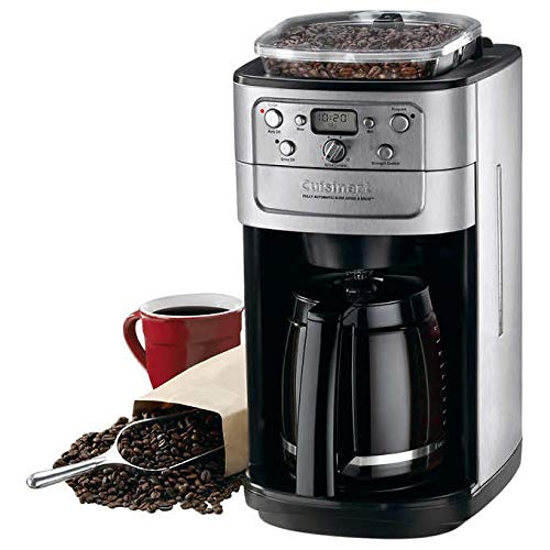 Cuisinart DGB-700BC Grind and Brew 12 Cup Coffee Maker (Updated Version) (Built Grinder In Pot Coffee)