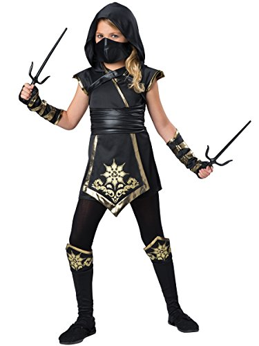 InCharacter Costumes Ninja's Mystique Costume, One Color, Size 6