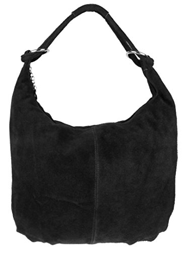 Girly Handbags - bolsas Hobo Mujer negro