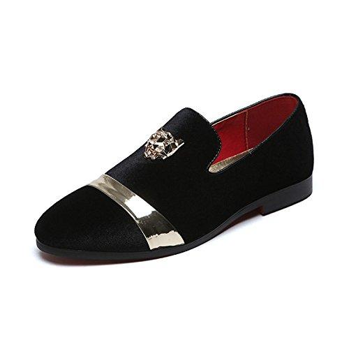 Black Chaussures D'amour Personnalité Pour Bateau De Hommes Chaussures Chaussures Mode Chaussures Paresseuses qUw7Pp4