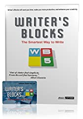 Write Easier and Faster  Writer's Blocks is powerful book writing software that makes collecting and organizing ideas and information for any type of complex writing project easier and faster. Enter each idea or note into a moveable, expandab...