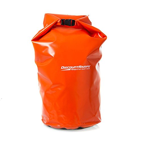 (Rage Powersports DB-50 Orange 50 L Waterproof Float Dry Storage Boat Cargo Pack/Camping Bag)