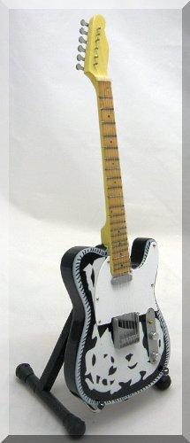 (WAYLON JENNINGS Miniature Mini Guitar Country)