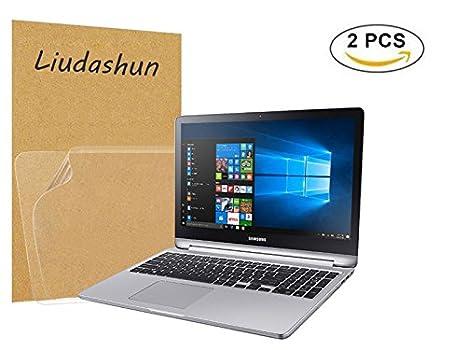 """Liudashun Protector de Pantalla HD Transparent para 15.6"""" Samsung Notebook 7 Spin NP740U5M Ordenador Portátil"""
