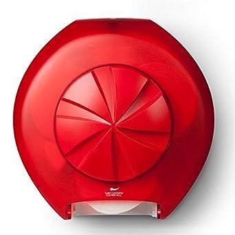 Bay West revolución 3 dispensador de papel higiénico,, Red, 1: Amazon.es: Industria, empresas y ciencia
