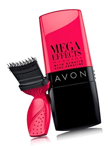 Avon Mega Effects Mascara with Keratin BLACK 01 brand new but box has imperfections sold by The Glam Shop