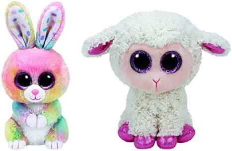 2017 Set Of 2 EASTER Twinkle Lamb and Bubby Bunny 6