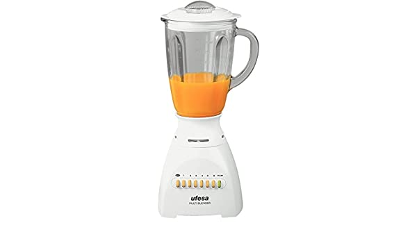 Ufesa BS4716 Multi Blender, Acero inoxidable, Blanco, 1850 g, 230 ...