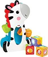 Fisher-Price Roller Blocks Tumblin' Zebra