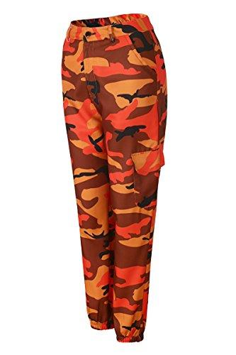 Go Multi poches Pantalon B Camouflée Beauty Femme Avec Cool qUqfd