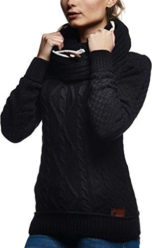 Sweater Sweater Schwarz Schwarz Nelson Nelson Leif Leif qPP4Xw
