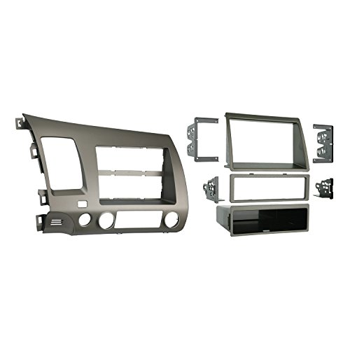 Metra 99-7871T Single DIN/Double DIN Installation Kit for 2006-UP Honda Civic Vehicles Taupe (99 Honda Civic Radio)