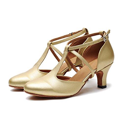 Minitoo de Salón Mujer Gold-6cm Heel