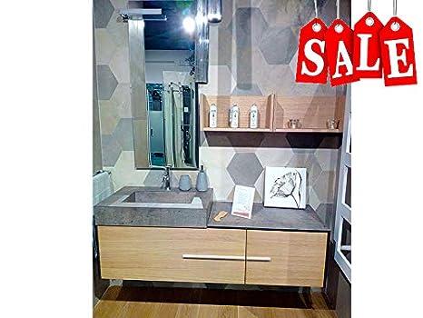 Compab Mobile sospeso Bagno B-Go Igloo: Amazon.it: Casa e cucina