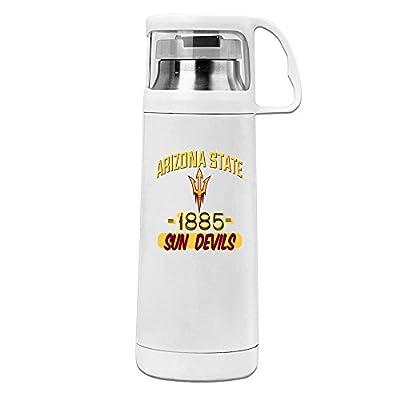 MeiXue NCAA Arizona State Sun Devils Vacuum Cup Water Bottle White