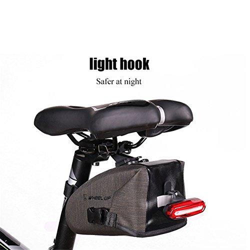 ASOSMOS Bike Saddle Bag,Waterproof Bicycle Seat Packs Triangle Bike Seat Storage Bag with Quick Release Buckle for Road Bike Mountain Bike MTB Bicycle by ASOSMOS (Image #6)
