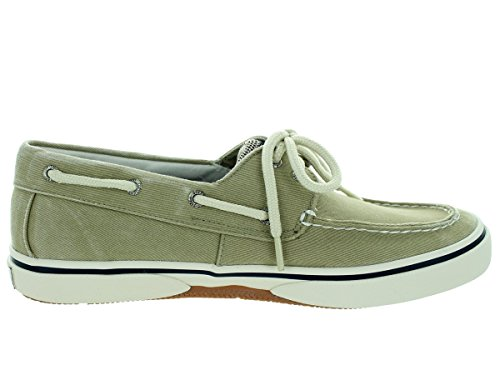 10 Canvas US Eye Sider Ecru Top 2 M Sperry Halyard Oyster xwYTqFnTz