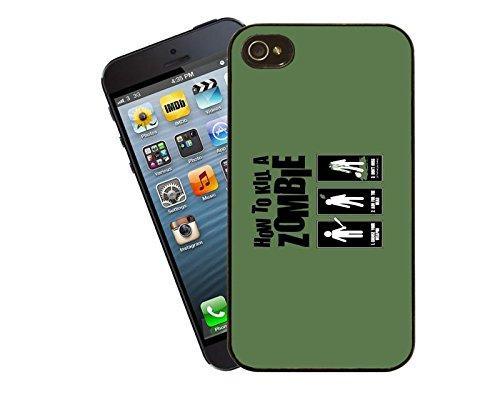 How To Kill a Zombie iPhone Fall–dieses Cover passt Apple Modell 5und 5S–von Eclipse Geschenk Ideen