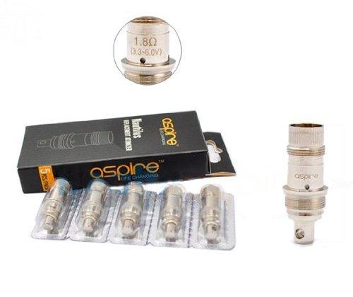 Aspire bobine originali bobine Aspire Nautilus mini BVC per K1, ET, ET-S, Mini Nova, Vivi Nova & CE5 5 Pack (1.6ohms ) ColorMixs B01M66N15Q