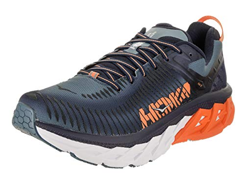 Black 2 Hoka Hombre One Iris Textile Synthetic Arahi Entrenadores Bluestone One IRaqF