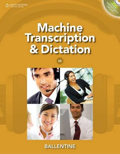 Machine Transcription+Dictation W/Cd