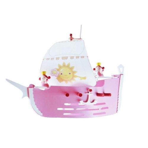 Prinzessinenschiff rosa 1er Pendellampe elobra 127100