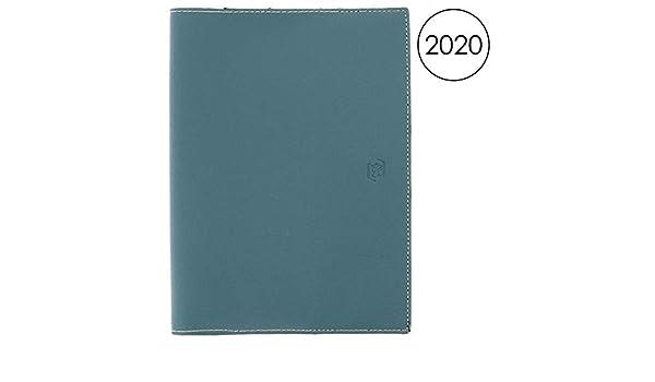 Oxford Héritage - Agenda semanal 2020 (18 x 25 cm), color azul ...