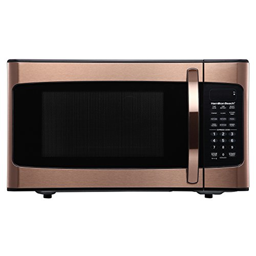1.1 Cubic Foot Copper Finish Microwave For Sale