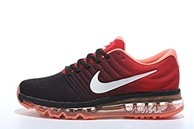 buy popular 72386 c4d55 ... low price nike airmax 2017 black orange running shoes for womens 008f0  77f0d