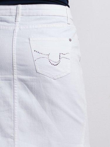 X Blanc Million jupe Femme LINDI Bdawqz68