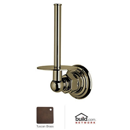 Rohl ROT19-TCB Viaggio Country Spare Toilet Paper Holder In Tuscan Brass