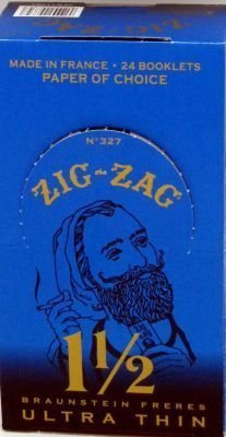Zig Zag Ultra Thin Cigarette Rolling Papers, 1 1/2 for sale  Delivered anywhere in Canada