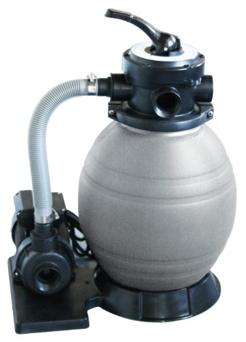 Blue Wave 12-Inch Sand Filter System with 1/2 HP Pump for Above Ground Pools